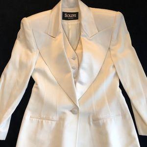 Solini Jackets & Coats - NWOT Solini Rhinestone Tuxedo Blazer